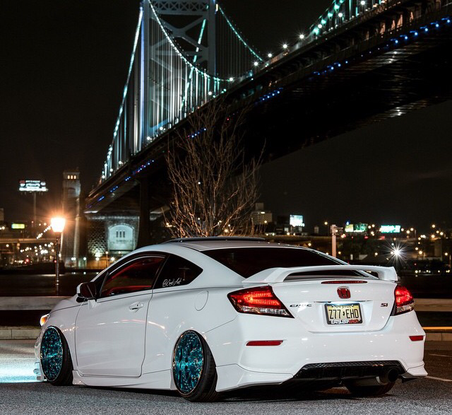 Properly Slammed Civic Si Coupe The Auto Rant